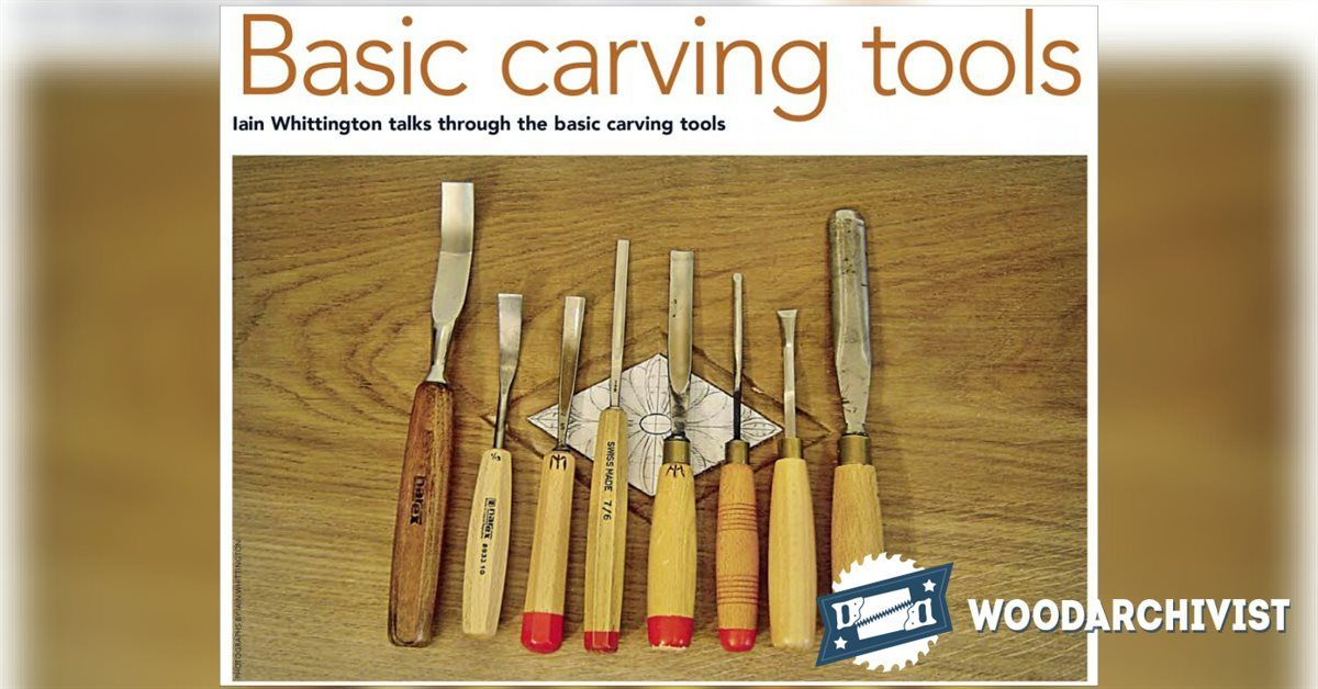 Basic carving tools wood carving patterns and techniques