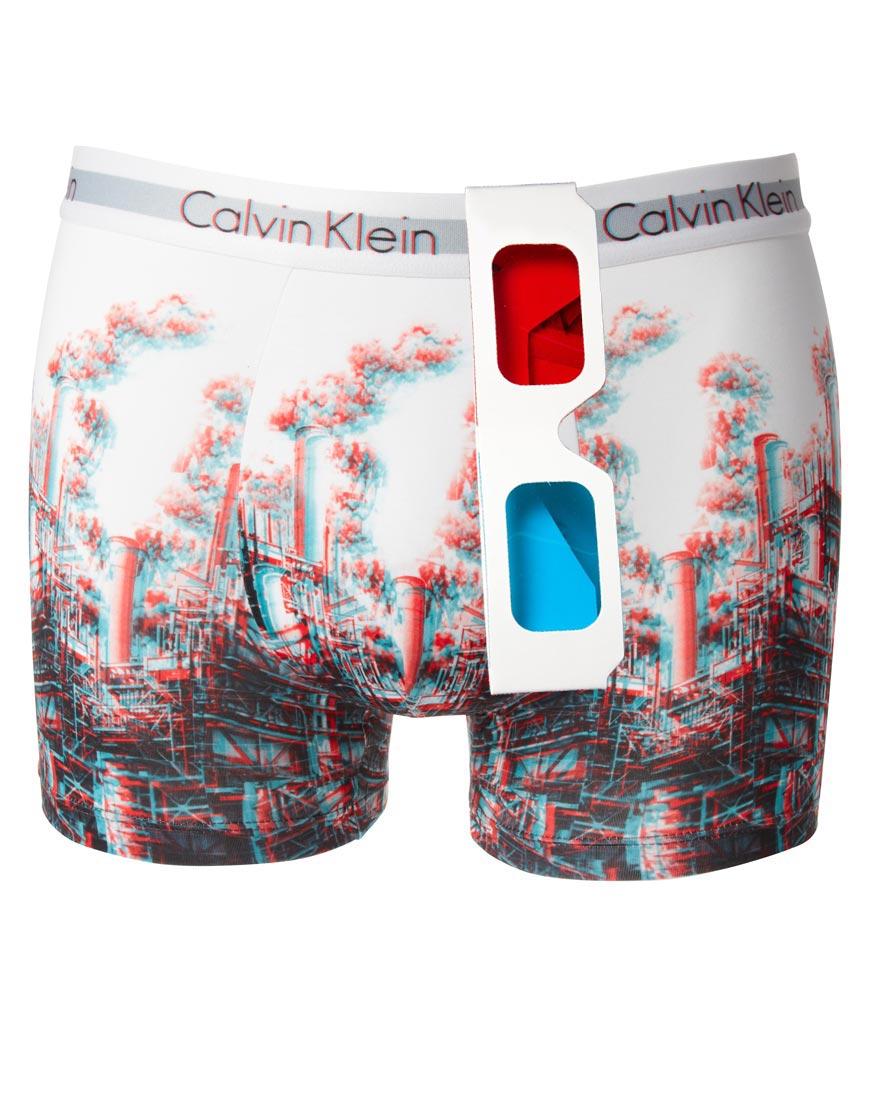 3D boxer shorts with 3D glasses!