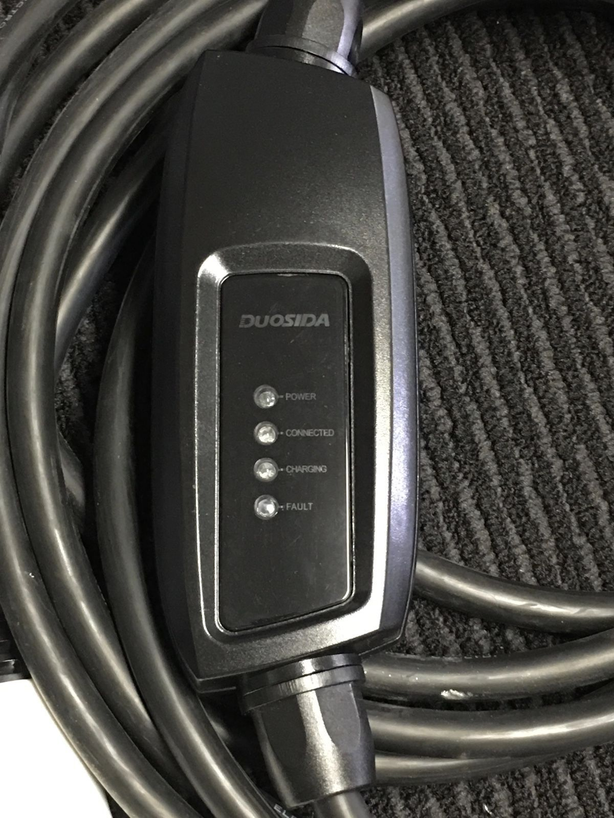 Duosida Evse Electric Car Charger Ev Phev Level 2 16 Amps 240v 3 8kw In 1