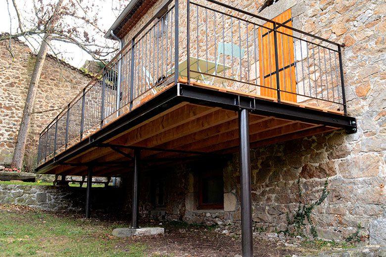 Prix terrasse sur pilotis Terasa v roce 2018 Pinterest Terrace - Terrasse Bois Pilotis Prix