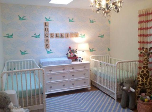 Cutest Nursery cutest shared nurseries for boys and girls   kids bedroom