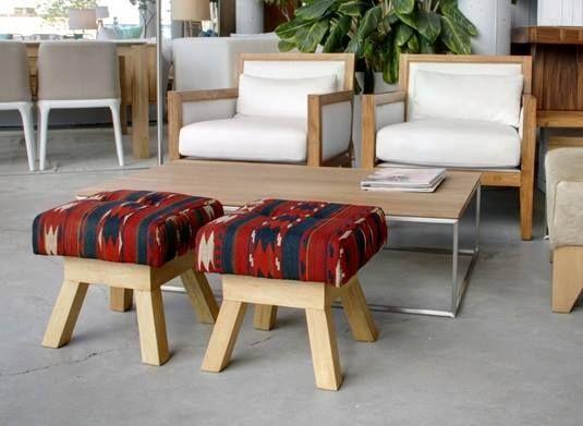 MARABIERTO - Banquito André kilim antiguo.   muebles   Pinterest ...