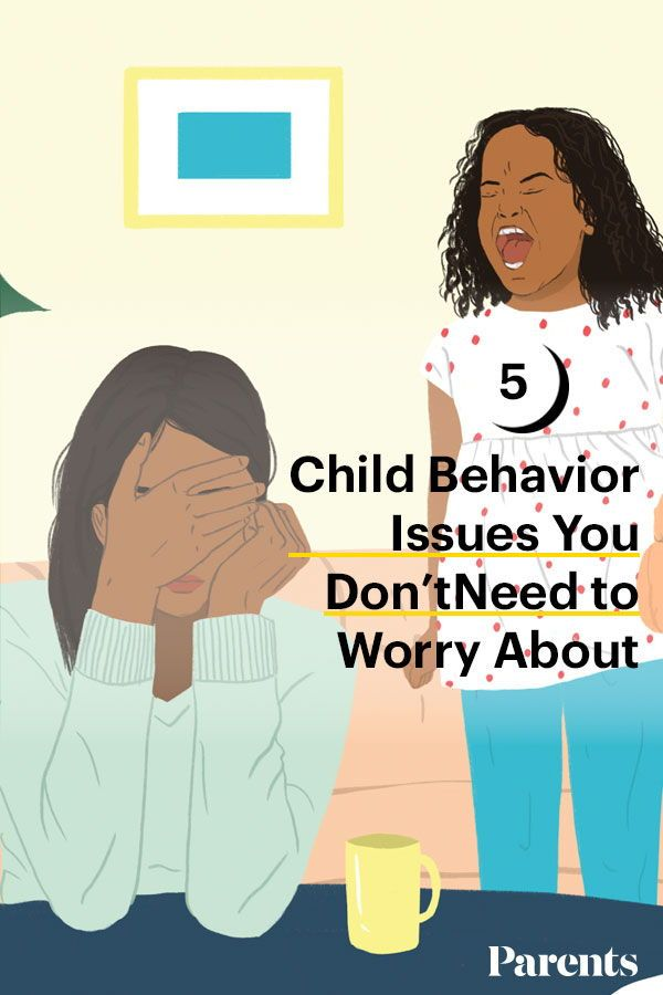 5 Child Behavior Issues You Don't Need to Worry About ...