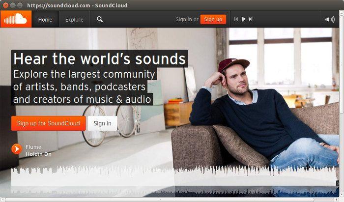 Install Soundcloud Desktop App In Linux App, The creator