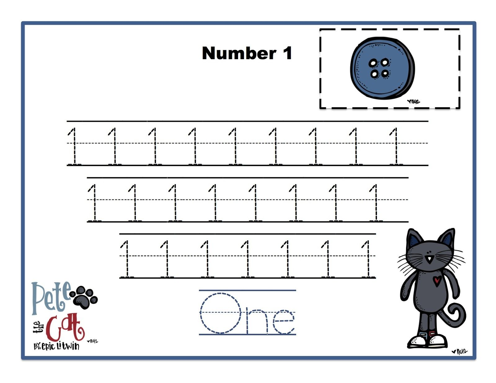 Preschool Printables Pete The Cat