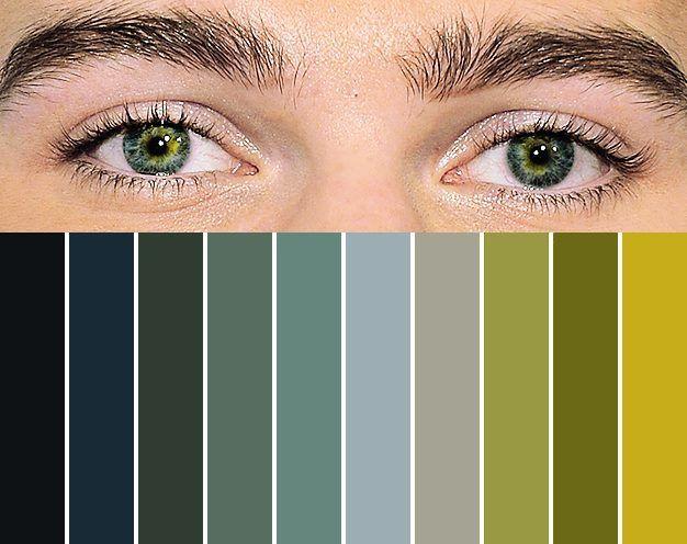 Chris Colfer's eyes
