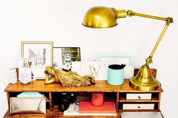 Inside the Stylish Space of a Fashion Brand's Founder via @domainehome