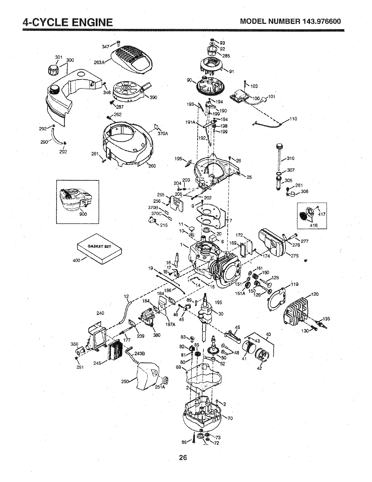Page 26 of Craftsman Lawn Mower User Manual