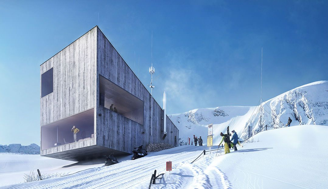 Making of Mountain Hostel - 3D Architectural Visualization & Rendering Blog