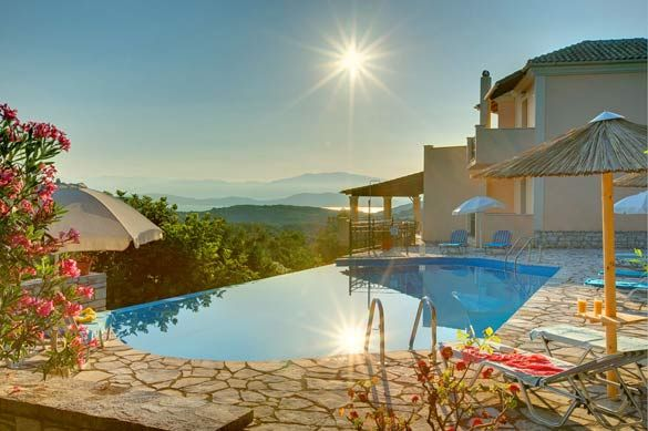Villa Dendrilla, Avlaki, Corfu, Greece. Find more at www.villaplus.com