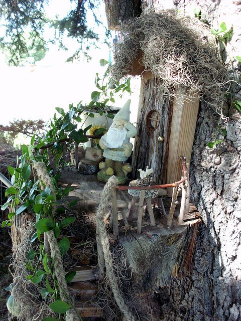 My Fairy Garden redone | Flickr - Photo Sharing!