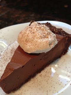 Delicious Yet Nutritious: Coconut Whipped Cream (with vegan chocolate mousse pie!