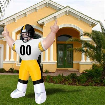 022242dde Pittsburgh Steelers 8  Inflatable Player