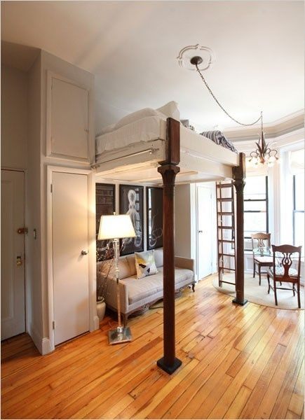 Amazing Use Of Space If You Love In A Small Apartment, Studio, Or Share A  House With Others And Only Have One Room. And Cute To Boot!