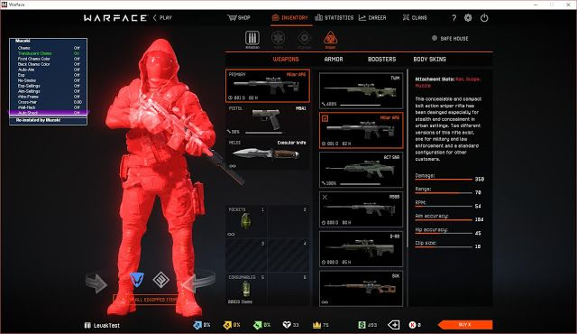 UPDATED 2017 CHEATS FOR ALL: Warface Destroyed Download DLL