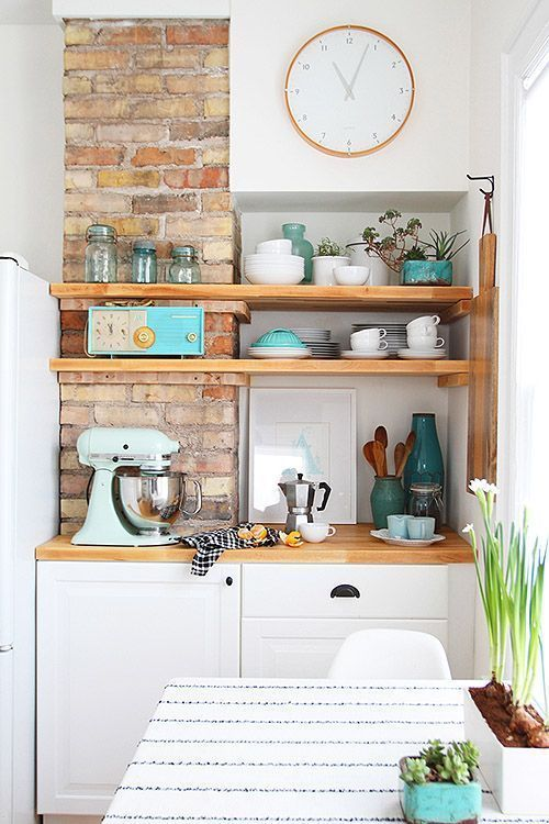 5 Ideas Para Instalar Unos Estantes En La Cocina Estantes De - Ideas-para-la-cocina