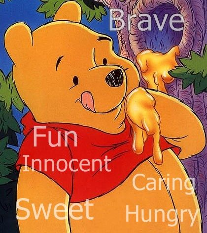 Winnie The Pooh Inner Beauty Pooh Loves Honey He Is Kind And