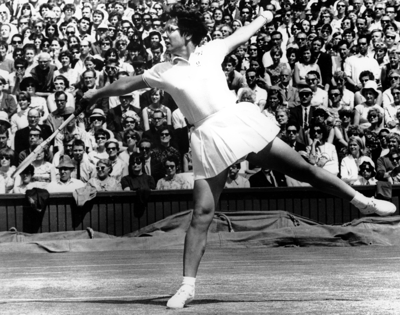 Billie Jean King 1967 Wimbledon Women's Singles Final