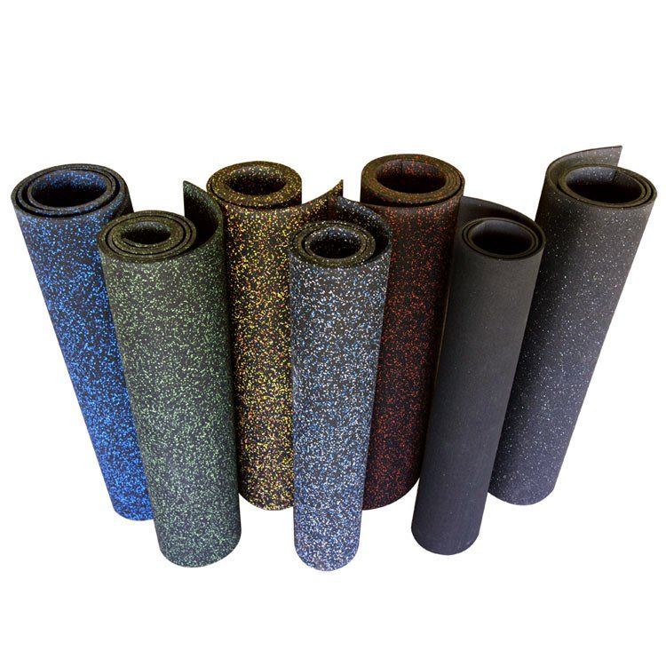 """""""Elephant Bark"""" 48"""" Recycled Rubber Flooring Roll Rubber"""