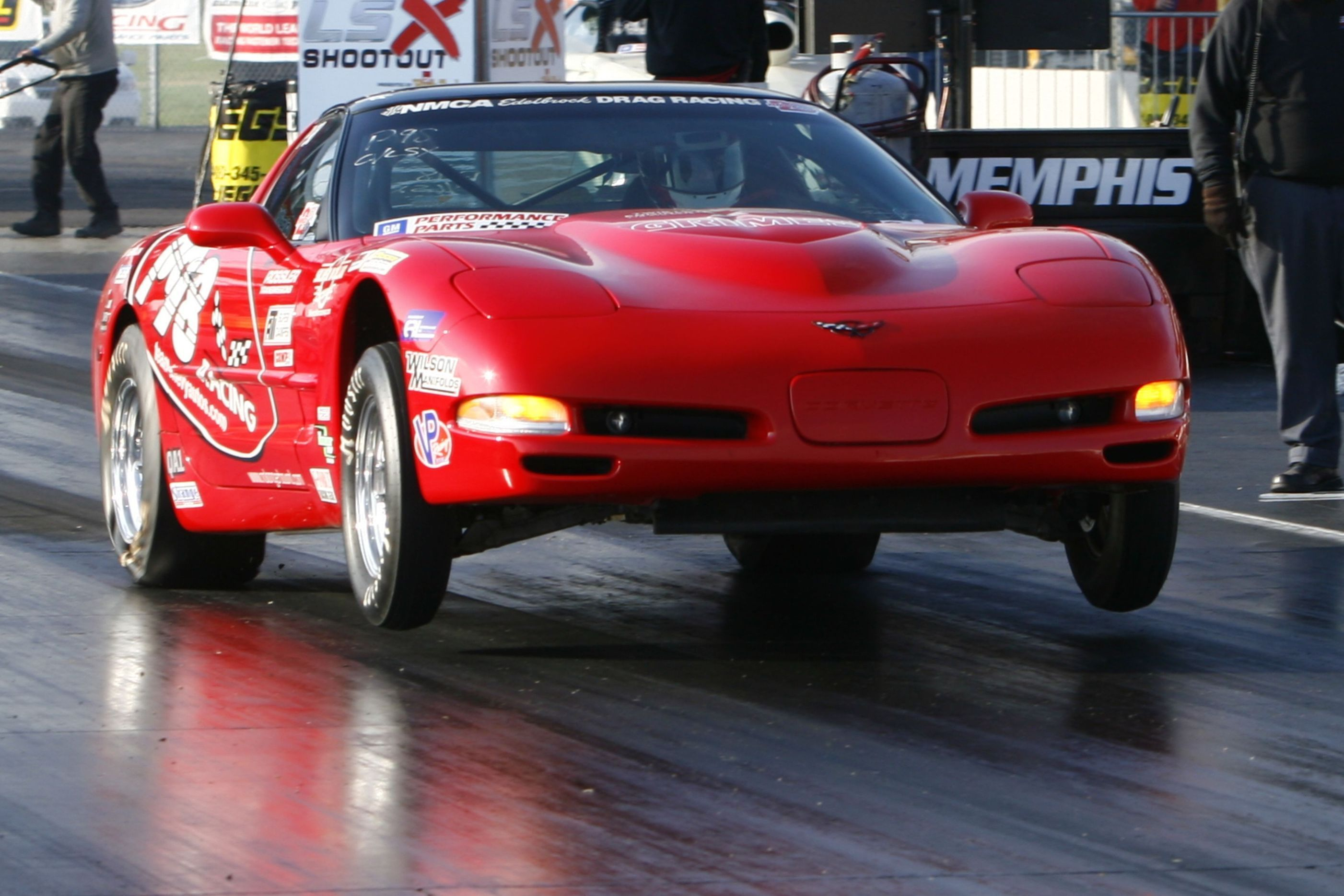 drag racing | 1998 Chevrolet Corvette LS2 427