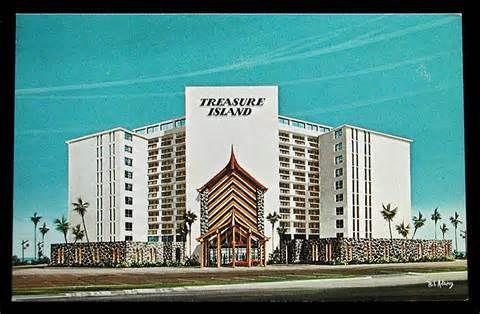 The Once Beautiful Treasure Island In Daytona Beach