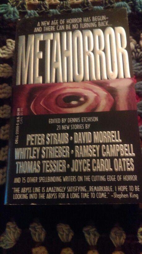 Metahorror Edited By Dennis Etchison Abyss Books Pinterest