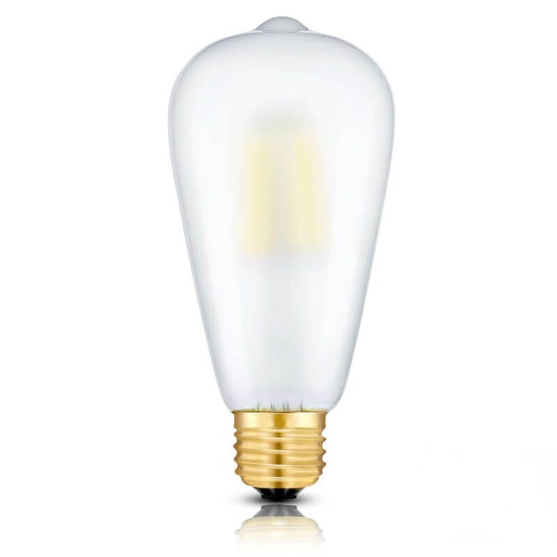 St64 E26 Frosted Edison Bulb Ledlighting Ledlights Filament Edison Bulb Bulb Led