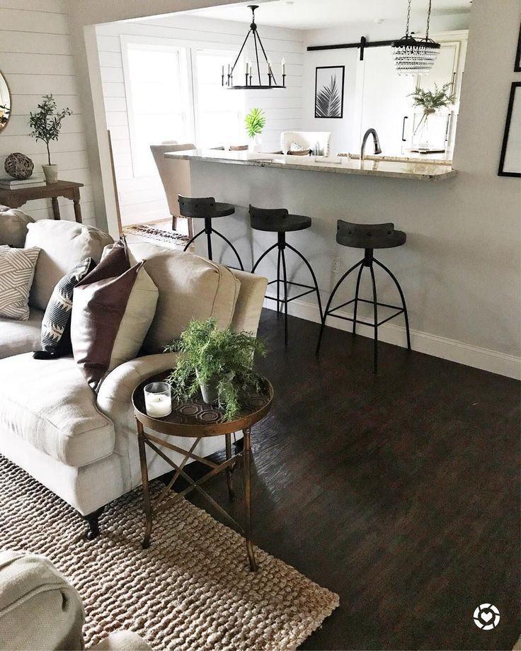 best designing a living room with dark wood floor  dark