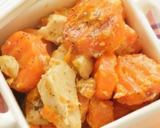 Poulet aux carottes express au thermomix recette - Cuisine minceur thermomix ...