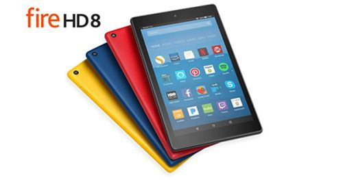 Enter For A Chance To Win A Amazon Kindle Fire HD 8 Tablet