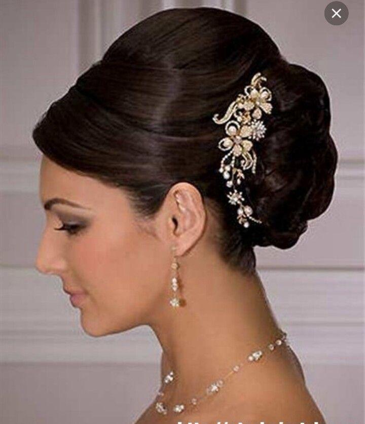French Twist Wedding Hairstyles: Wedding French Twist