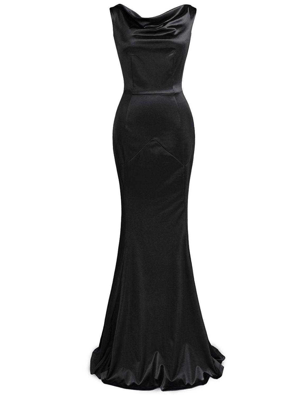 Amazonsmile muxxn womenus s brief elegant mermaid evening dress