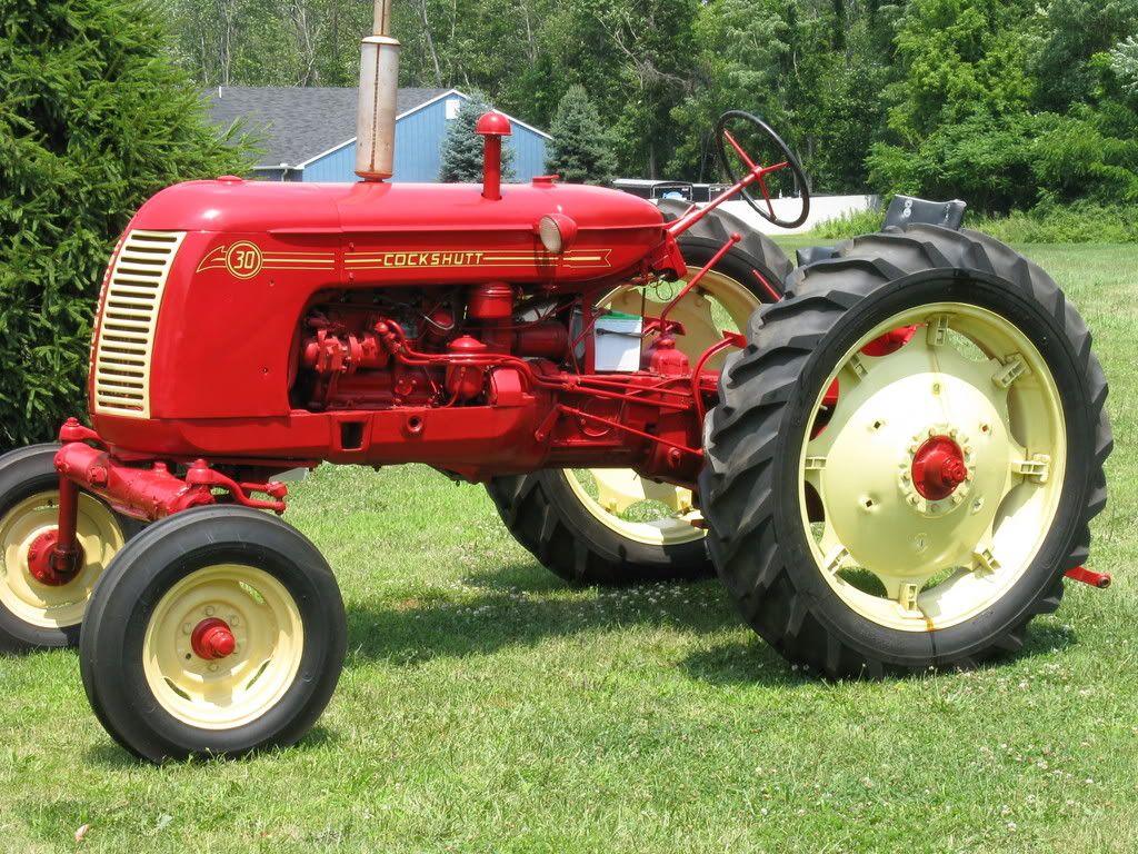 Vintage Farms Tractors For Sales : Tractors antique cockshutt parts for sale