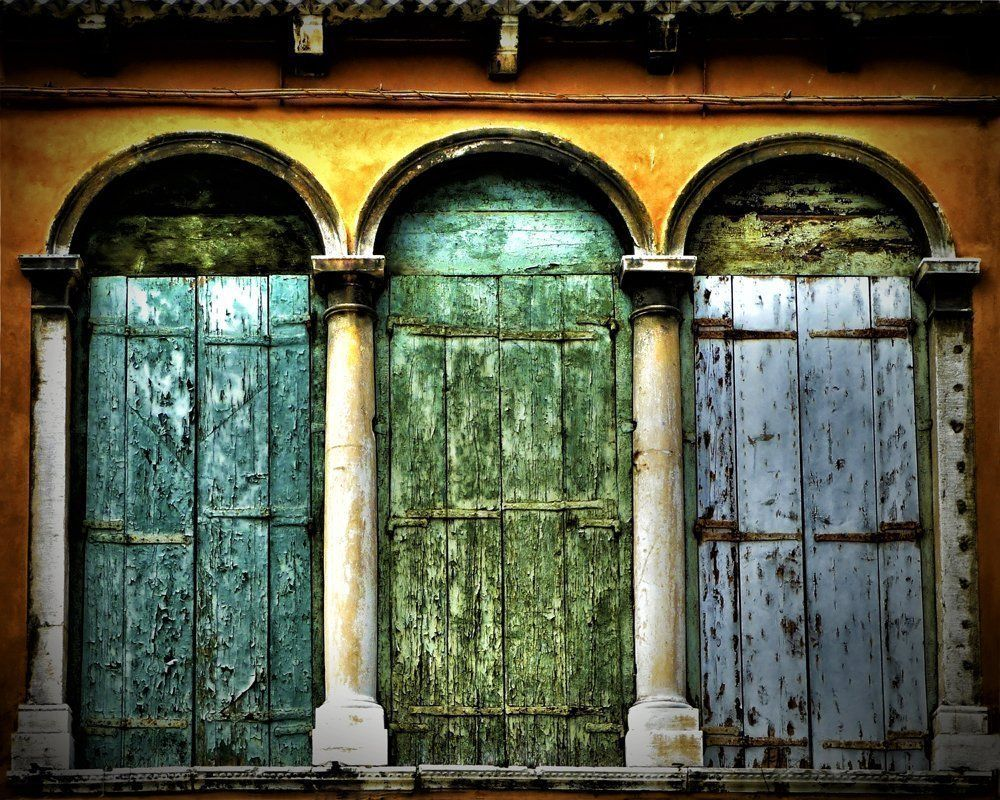 Italian Wall Art For Living Room : Rustic door decor venice italy wall art travel