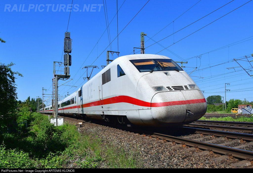 402 036 Deutsche Bahn AG DB AG, ICE2 BR 402 at Lehrte