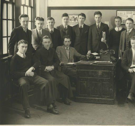 Aquin Newspaper Staff [1933-1934]