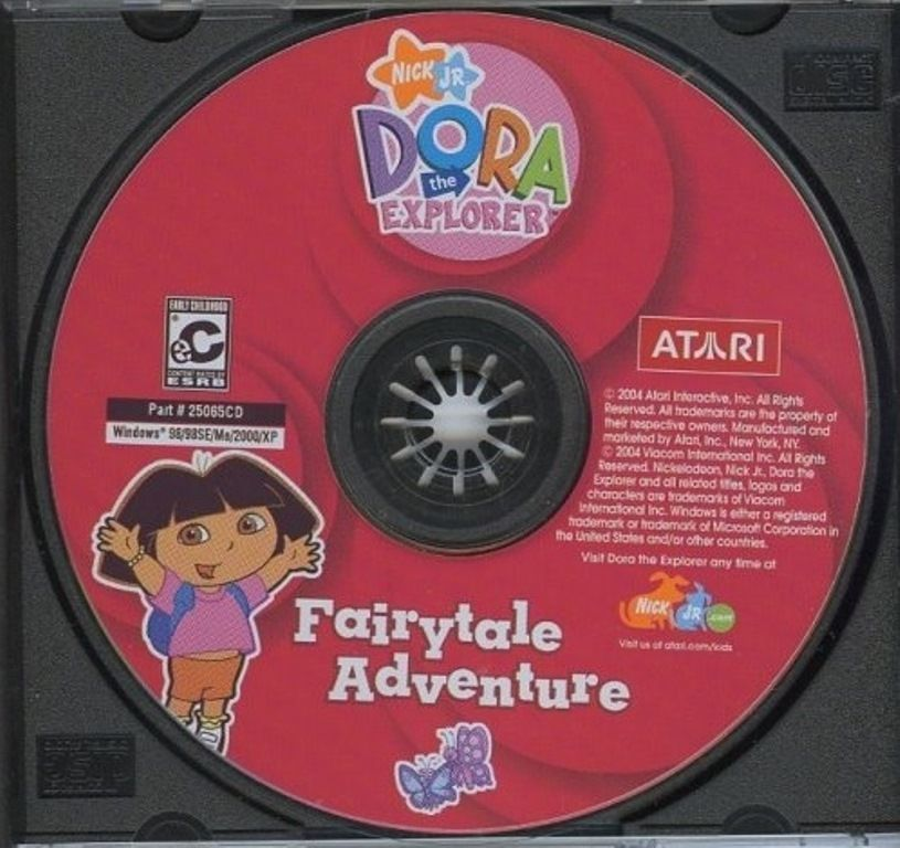 Dora The Explorer Fairytale Adventure By Atari PC Game
