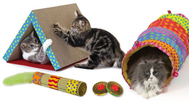 May 2013 Floppycats Com Giveaway Petstages Cat Toy Package Cat Scratcher Pet Toys Cat Toys