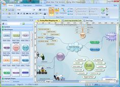 Edraw Mind Mapping Is A Vector Based Mind Mapping Software With