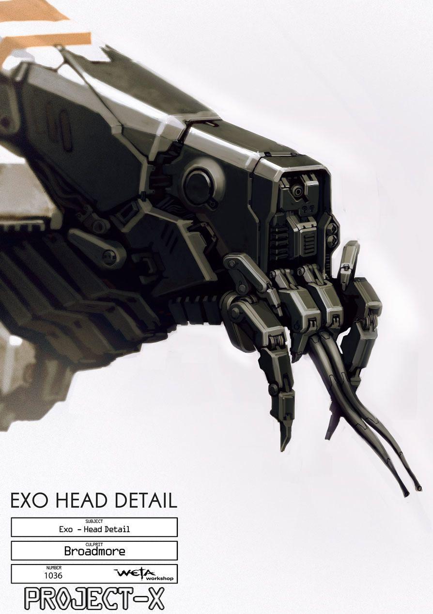 Exoheadfin Scifi Wallpaper