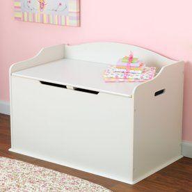 Kidkraft Austin Vanilla Rectangular Toy Box 14958 Toy