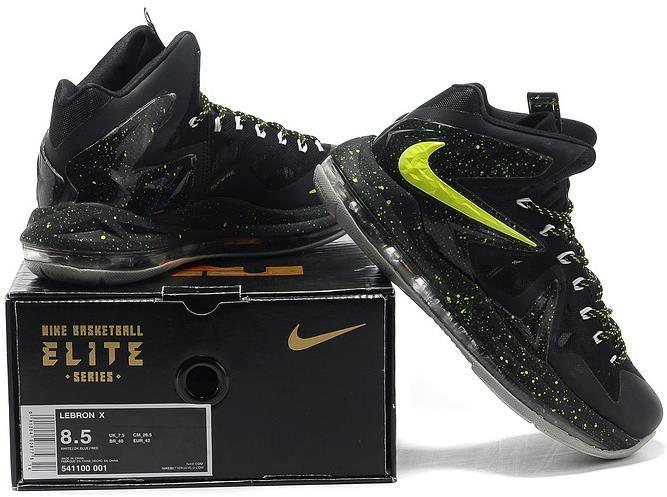a4323946f4cebd Nike Lebron 10 P.S Elite Green Black Grey1