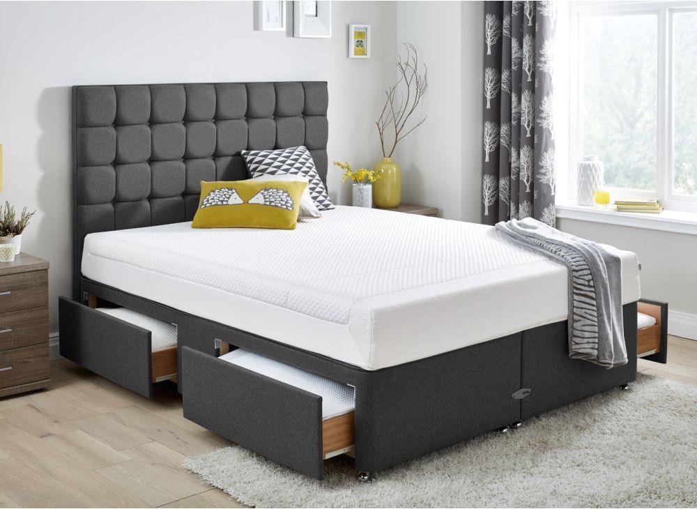 Best Pin By زوبعة في فنجان On غرف نوم Bed Grey Divan Bed 400 x 300