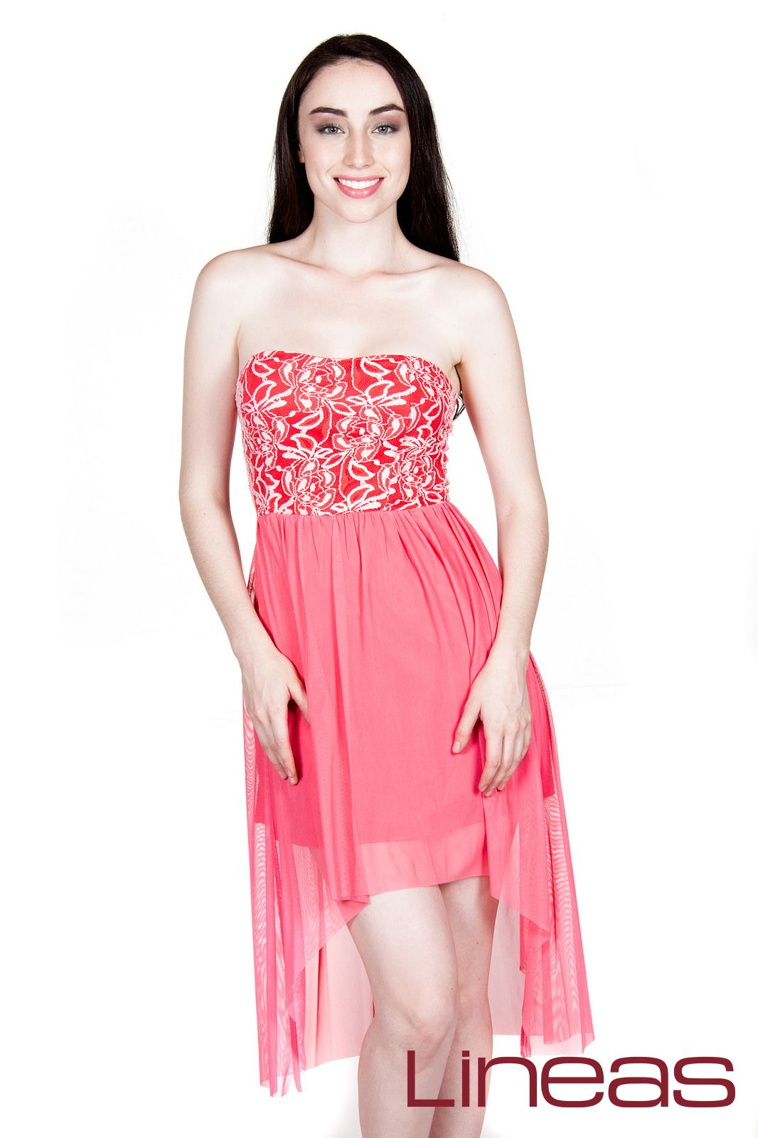 Vestido, Modelo 17575. Precio $220 MXN #Lineas #outfit #moda ...