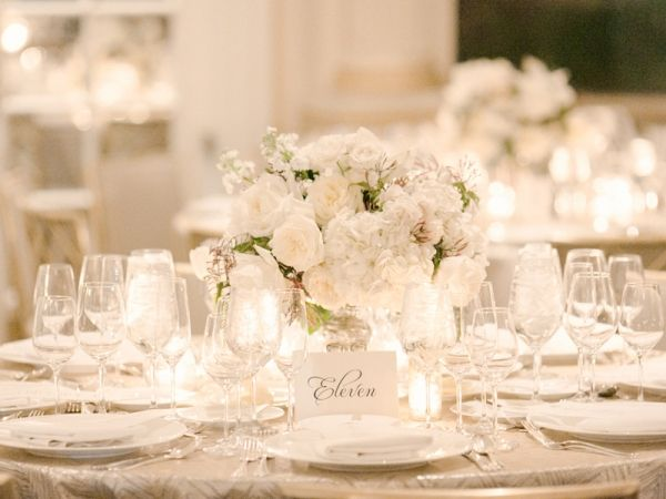 White Table Setting Reception Ideas  sc 1 st  Pinterest & White Table Setting Reception Ideas | White table settings Table ...
