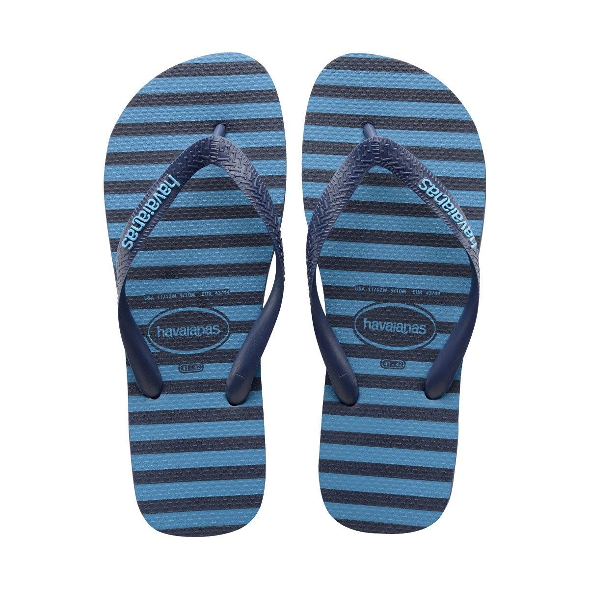 f03eb25d2de HAVAIANAS TOP STRIPES LOGO SANDAL NAVY BLUE.  havaianas  shoes  all ...