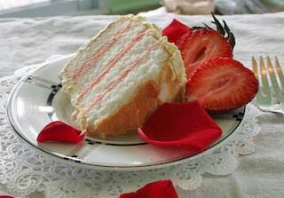 Rose Petal Cake with Rose Icing: Jim Long's Recipes