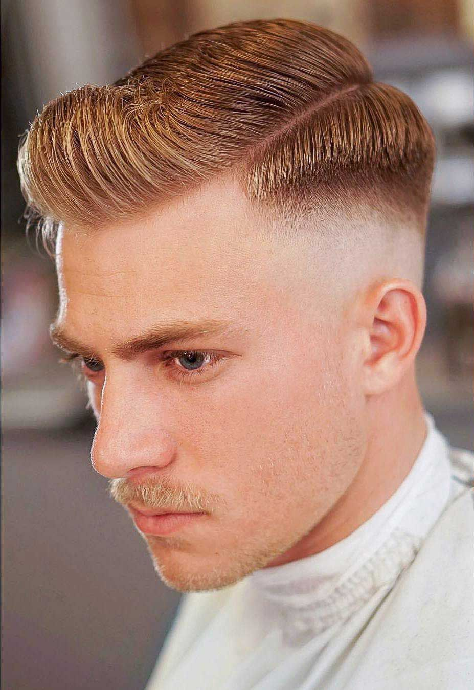 70 Skin Fade Haircut Ideas Trendsetter For 2020 Comb Over Fade Haircut High And Tight Haircut Side Part Hairstyles