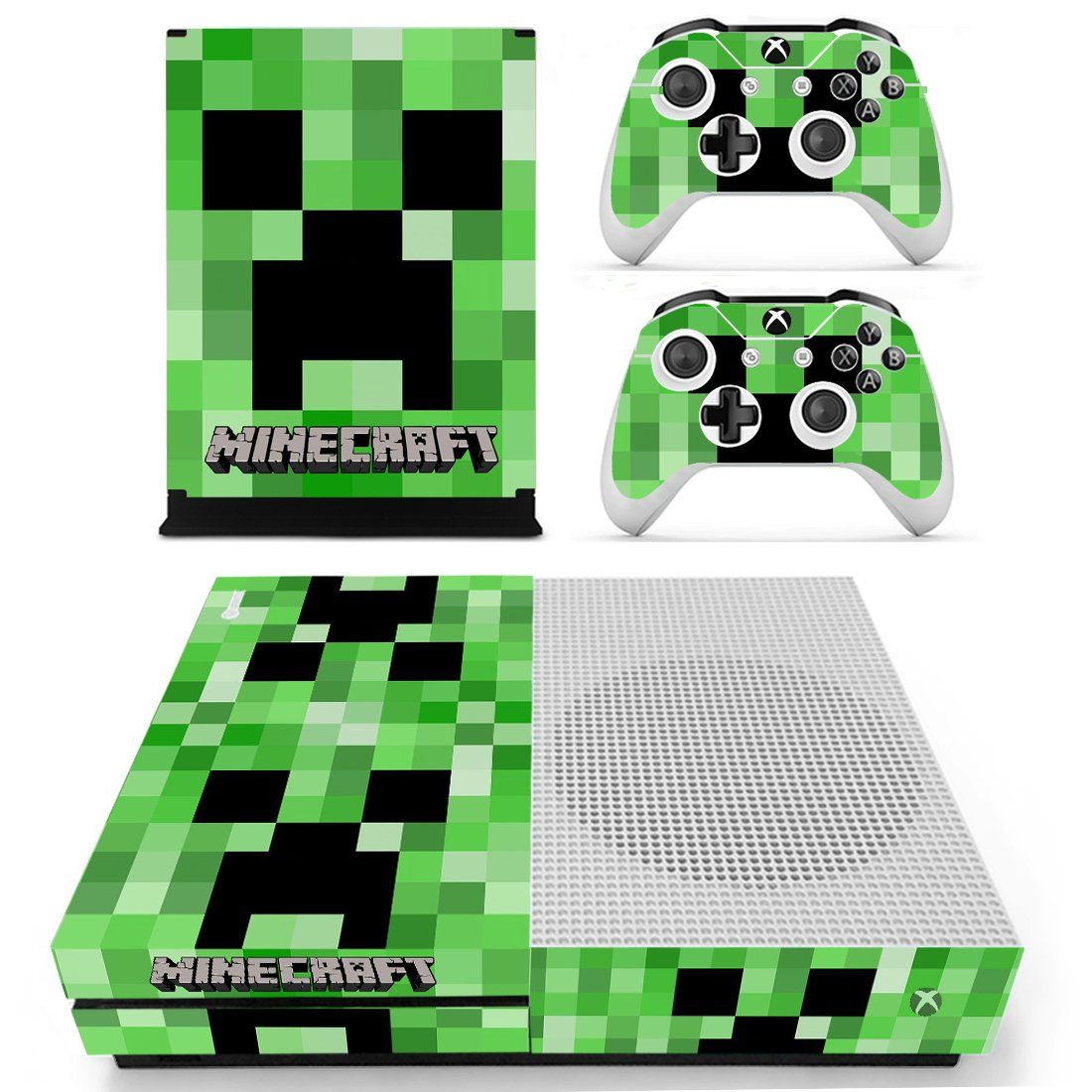 Minecraft Xbox One S Skin Decal For Console And 2