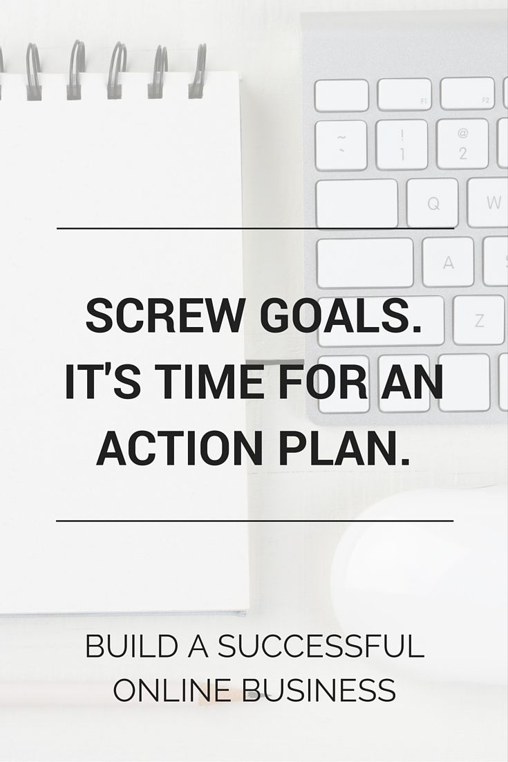 Screw Dreams And Goals You Need An Action Plan  Successful